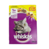 WHISKAS TASTY FILLED POCKETS WITH CHICKEN-340 GRAMS