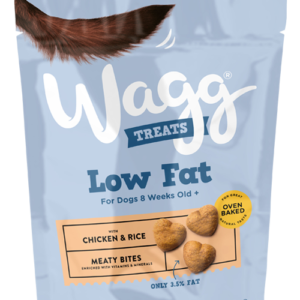 WAGG DOG TREATS LOW FAT(For dogs 8 weeks old+ 100grams)