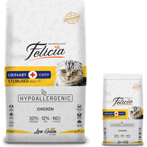 FELICIA URINARY CARE FOR CATS 2KG